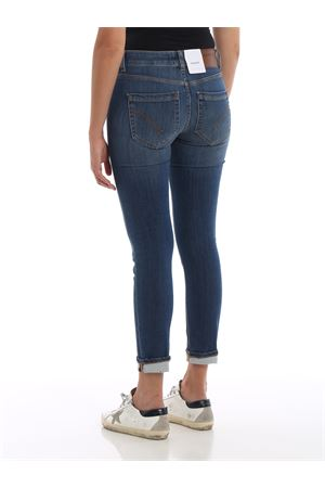 Monroe low waist skinny jeans