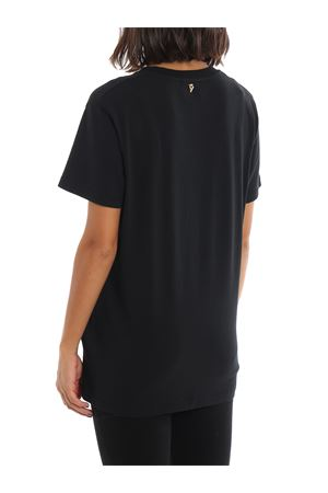 T-shirt in jersey di cotone con stampa DONDUP | 7 | S756JF0249DZ68PDD999