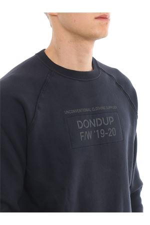 Felpa con stampa logo a contrasto DONDUP | -108764232 | UF596KF0159UZ08DU897
