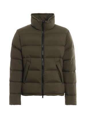 Matte army green puffer jacket DONDUP | 783955909 | UJ658PX0058UXXXDU640