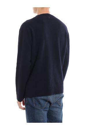 Pull in lana merino con logo jacquard DONDUP | 7 | UM953M00671UN14DU895