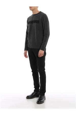 Pull in lana merino con logo jacquard DONDUP | 7 | UM953M00671UN14DU909