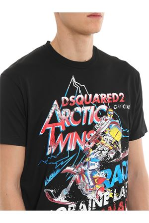 T-shirt Arctic Twins DSQUARED2 | 8 | S74GD0552S22427900