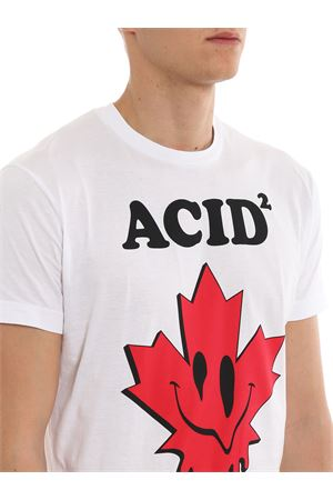 T-shirt Acid² bianca DSQUARED2 | 8 | S74GD0562S22427100