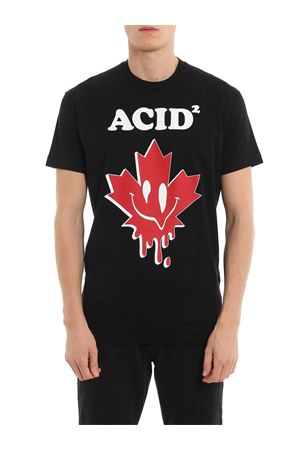 T-shirt Acid² nera DSQUARED2 | 8 | S74GD0562S22427900