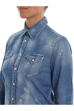 Camicia in denim délavé DSQUARED2 | 6 | S75DL0645S30341470
