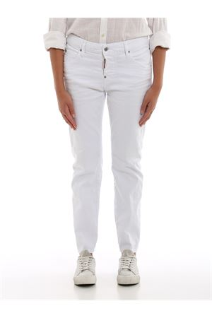 Cool Girl white denim jeans