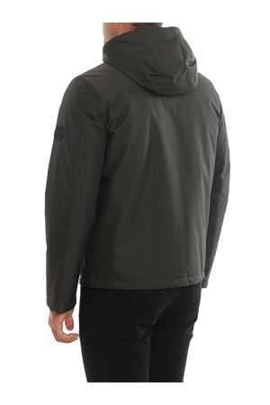Hooded padded windbreaker