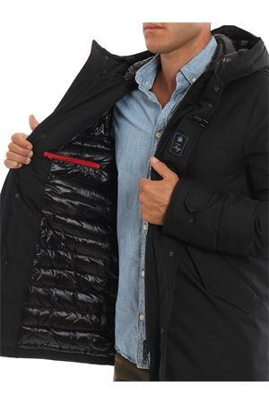 Black tech fabric padded parka coat FAY | 18 | NAM33391010QKJB999