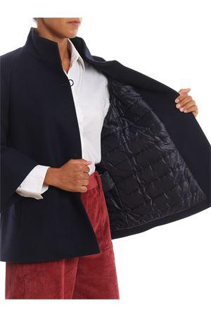 Giacca in misto lana imbottita stile mantella FAY | 18 | NAW12393880RCPU807