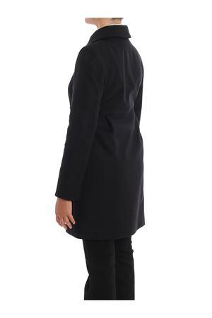 Cappotto nero a tre ganci in misto lana NAW50393070RCPB999 FAY | 18 | NAW50393070RCPB999