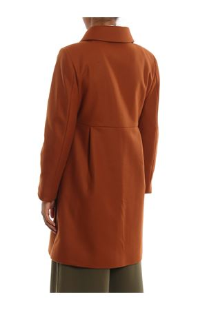 Three-hook wool cloth coat