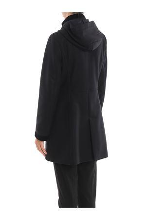 Virginia three-hook black hooded coat FAY | 17 | NAW50394160RCPB999