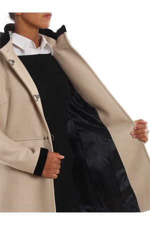 Virginia three-hook hooded coat