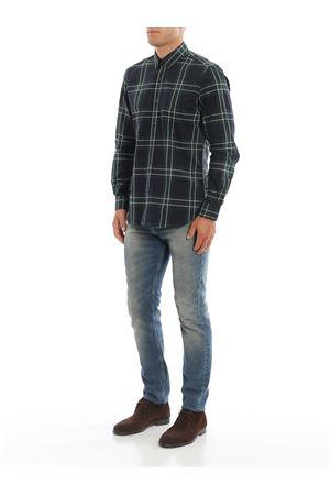 Camicia con motivo tartan FAY | 6 | NCMA1392580RFC0YZ0