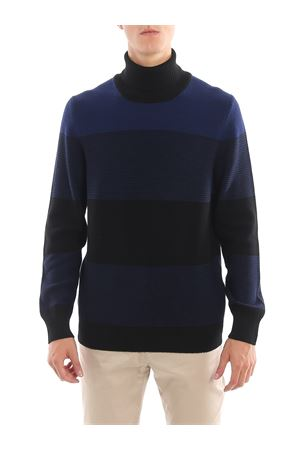 Striped wool jacquard turtleneck FAY | 7 | NMMC1392190RGP0E57