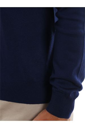 Electric blue wool sweater
