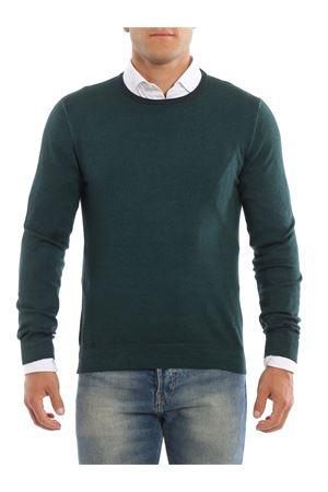 Maglia verde scuro in lana FAY | 7 | NMMC139249TCQRV400