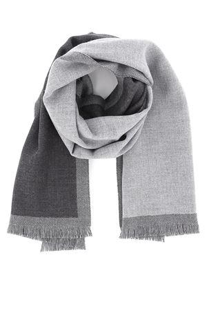 Dark and light grey wool scarf FAY | 77 | NSMF2392960HFR1643