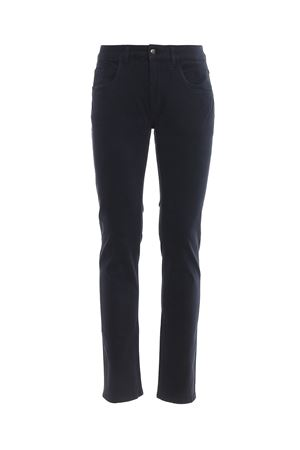 Pantaloni blu in twill soffice al tatto FAY | 20000005 | NTM8239180TQGGU812