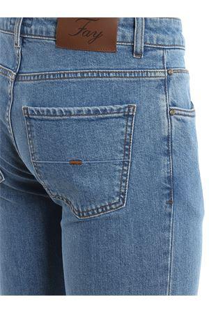 Jeans chiari in denim stretch NTM8239196LQGKU206 FAY | 20000005 | NTM8239196LQGKU206