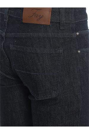 Jeans scuri in denim stretch FAY | 20000005 | NTM8239196LQIRU812