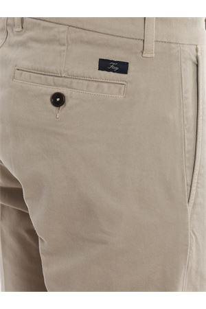 Pantaloni chino in twill con pinces FAY | 20000005 | NTM8639190TQGGC211