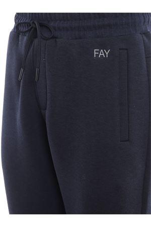 Blue tech cotton joggers FAY | 40000001 | NTM88391350QEHU809