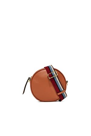 ORANGE LARGE TAMBURELLO SHOULDER BAG