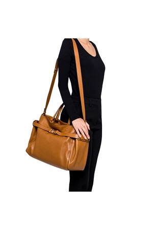 STELLA LARGE BROWN HANDBAG