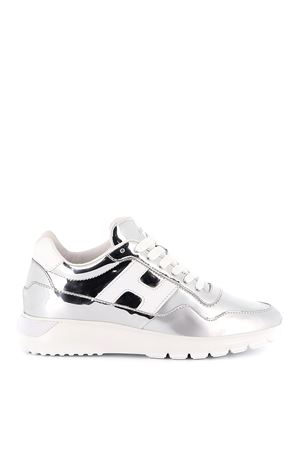 Interactive³ silver mirrored sneakers HOGAN | 12 | GYW3710CJ10LME2AOP