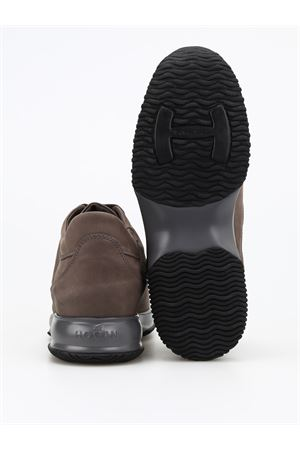 Sneaker Interactive in nabuk HXM00N00010DSCB611 HOGAN | 12 | HXM00N00010DSCB611