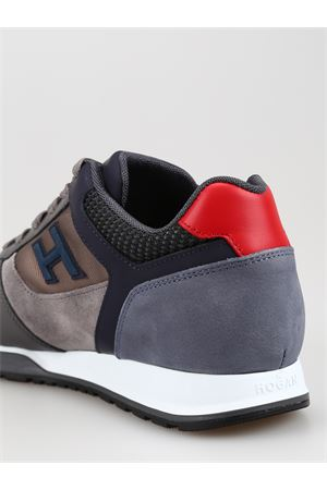 H321 multi fabric sneakers HOGAN | 12 | HXM3210Y860LIK50B8