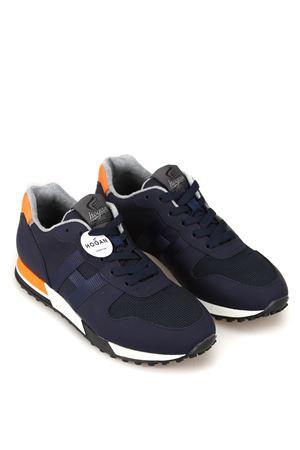 h383 retro-running sneaker h logo HOGAN | 12 | HXM3830AN51LJ8896L