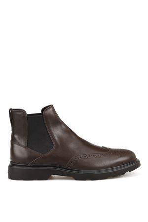 H393 leather Beatle boots HOGAN | 75 | HXM3930BZ80LDVS807