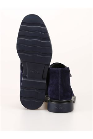 H393 Derby desert boots HOGAN | 12 | HXM3930W352LDUU801