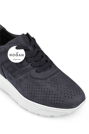 Active One nubuck sneakers HOGAN | 120000001 | HXM4430BR11DSCU215