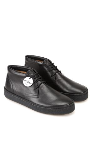 H476 Smart mid cut Derby leather lace-ups HOGAN | 12 | HXM4760CD40LDVB999