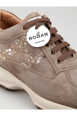 Interactive floral H sneakers HOGAN | 12 | HXW00N0BY10CR0C407