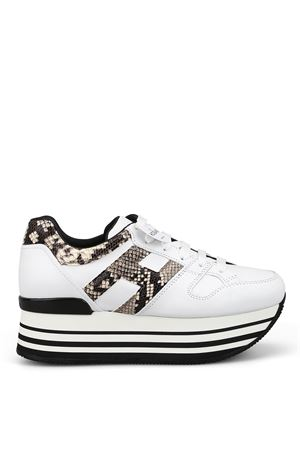 Maxi H222 sneakers with reptile print inserts HOGAN   12   HXW2830T548MIY0772