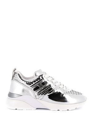 Active One patent leather mirrored sneakers HOGAN | 12 | HXW3850CE90SV0B200