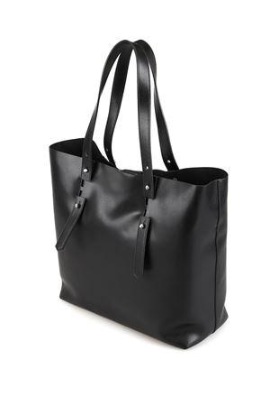 Black smooth leather tote HOGAN | 31 | KBW018A0400J60B999