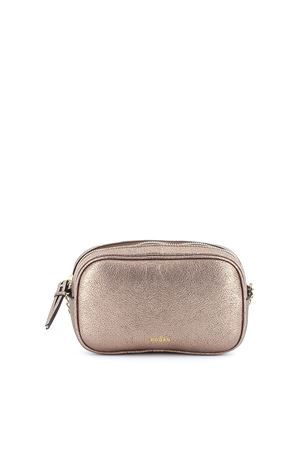 Laminated crackled leather cross body bag HOGAN | 31 | KBW018D0100J6DS408