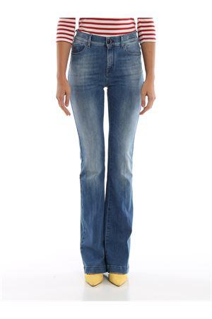 Jeans a zampa Frida in indaco naturale JACOB COHEN | 20000005 | FRIDA08768W25251GENJC 002