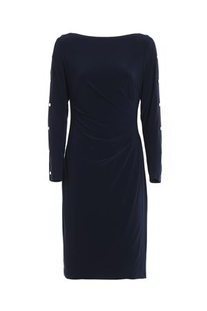 Draped jersey dress