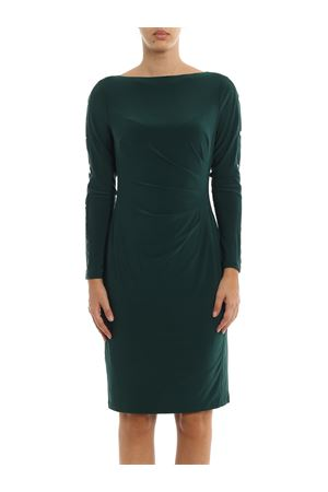 Abito drappeggiato in jersey RALPH LAUREN | 11 | 250751574004MEDIUM GREEN