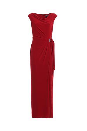 Jewel detail jersey long dress LAUREN RALPH LAUREN | 11 | 253751448009SCARLET RED