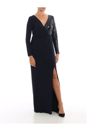 bellamy-long sleeve-evening dress RALPH LAUREN | 11 | 253751493002LIGHTHOUSE NAVY