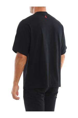 County print black T-shirt MARCELO BURLON | 8 | CMAA066F1901101110A7