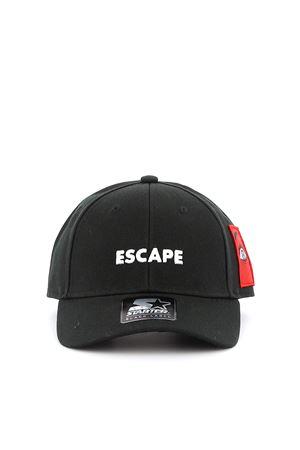 Cappellino Escape con ricami e patch CMLB008E190170571088 MARCELO BURLON | 26 | CMLB008E190170571088